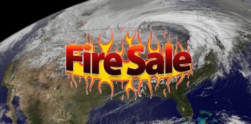 US fire sale